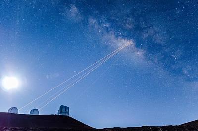 Photograph - Galaxy Wars by Jason Chu