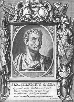 Caesar Augustus Photograph - Galba, Roman Emperor by Science Photo Library