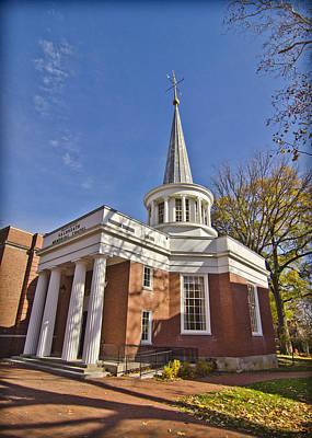 Ou. Ohio University Photograph - Galbreath Chapel by Shirley Tinkham