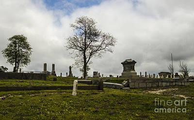 Photograph - Galena Kansas Cemetery by Deborah Smolinske