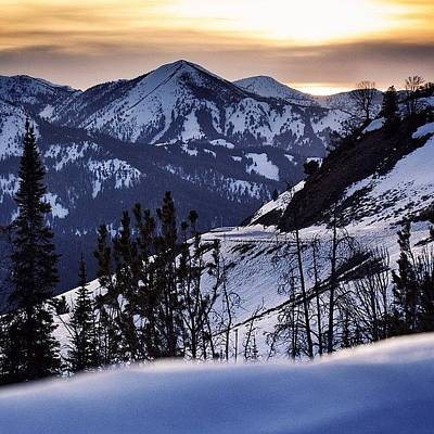 Sunset Photograph - #galena #sunsets #idaho #mountains by Cody Haskell