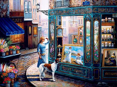 Painting - Galerie Tresors by John P. O'brien