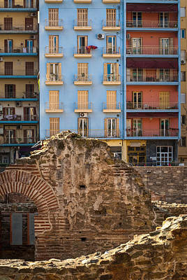 Galerius' Palace Thessaloniki Art Print by Brian Neely