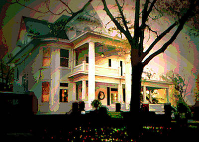 Galesburg House Art Print