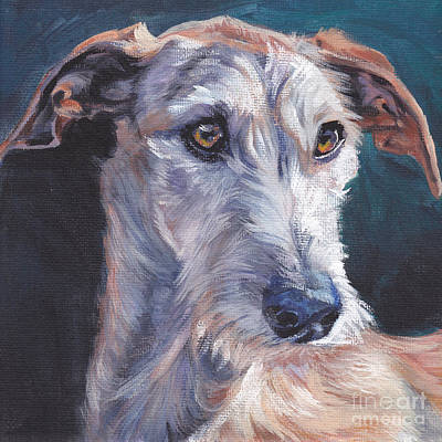 Painting - Galgo Espanol by Lee Ann Shepard