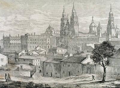 Galicia Santiago De Compostela Province Art Print by Prisma Archivo