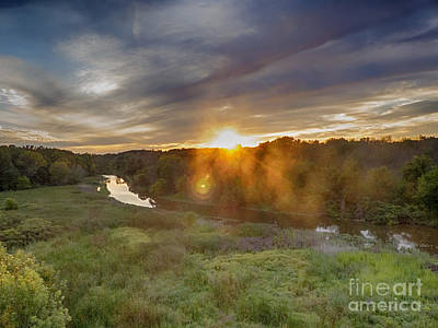 Kayak Photograph - Galien River by Christopher Purcell