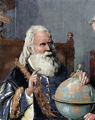 1884 Photograph - Galileo Galilei (1564-1642 by Prisma Archivo