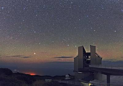 Galileo Telescope Art Print