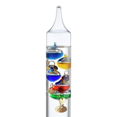 Galileo Thermometer Print by Science Photo Library
