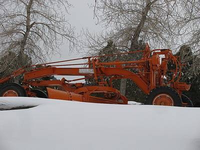 Galion Snow Plow Original by Steven Parker