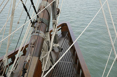 Photograph - Galleon Bow by Bradford Martin