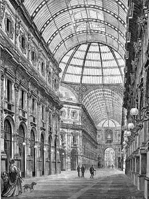 Galleria Vittorio Emanuele Art Print by Bildagentur-online/tschanz