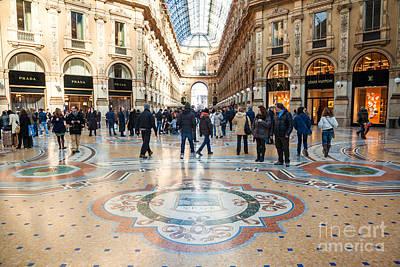 Galleria Vittorio Emanuele II - Milan - Italy Art Print