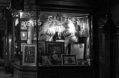 Gallery On Royal Street Art Print