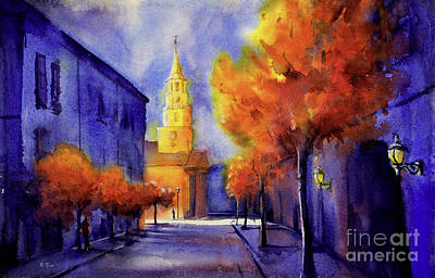 Religious Artist Painting - Gallery St. Charleston by Ryan Fox
