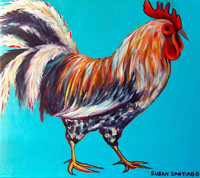 Gallo Art Print