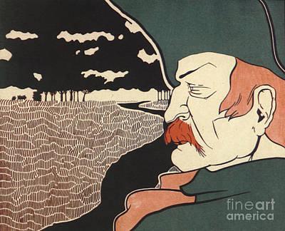 Galloping Dick Frank Hazenplug Art Print by Unknown