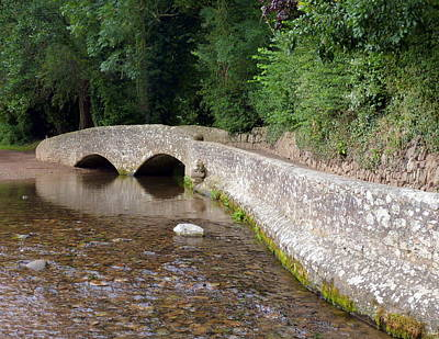 Photograph - Gallox Bridge Near Dunster by Carla Parris
