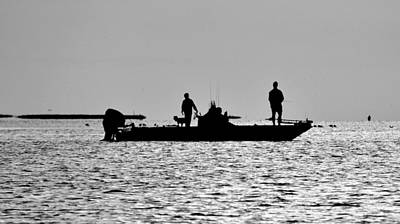 Photograph - Galveston Bay Fishing by Kristina Deane