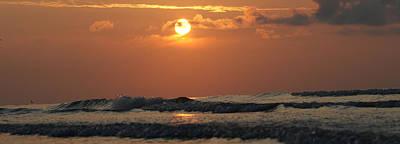 Photograph - Galveston Beach - Texas by Michael Davis