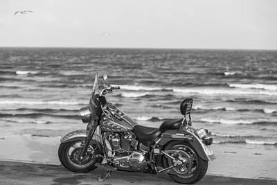 Photograph - Galveston Harley Davidson by John McGraw