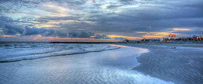 Photograph - Galveston Sunset by Gregory Cox
