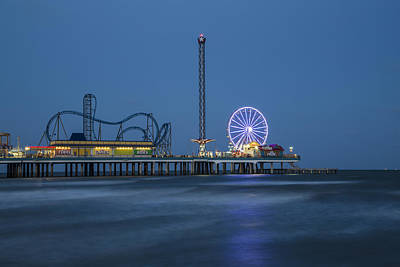 Photograph - Galveston Tx Pier by John McGraw