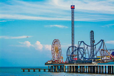 Photograph - Galvestor Pier 2.0 by Jason Brow