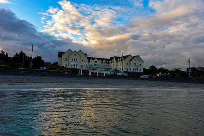 Photograph - Galway Bay Hotel In Ireland by Marilyn Burton