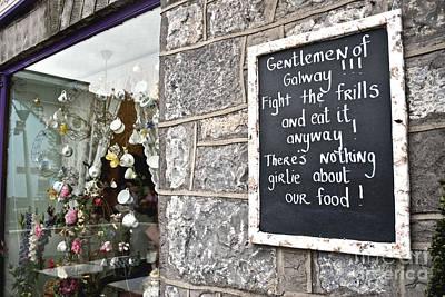 Digital Art - Galway Fight The Frills by Danielle Summa