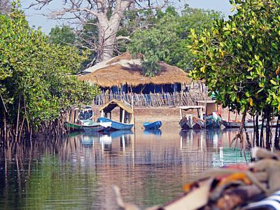 Photograph - Gambian Fishing Village by Tony Murtagh