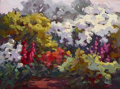 Gamble Gardens Print by Carol Smith Myer