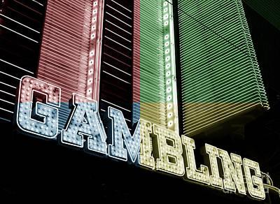 Photograph - Gambling Fusion by John Rizzuto