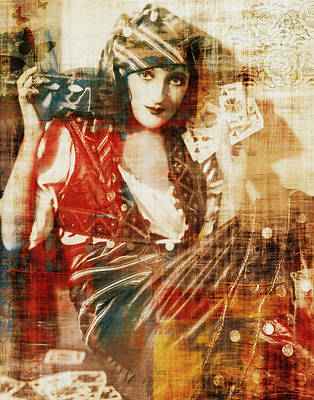 Photograph - Gambling Gypsy by Lora Mercado