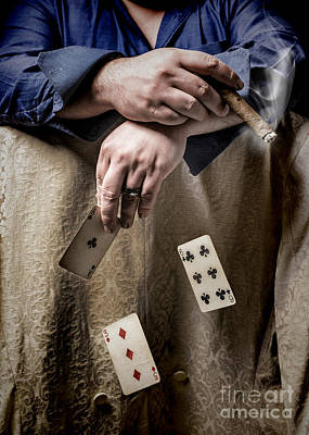 Wedding Ring Photograph - Gambling Man by Amanda Elwell