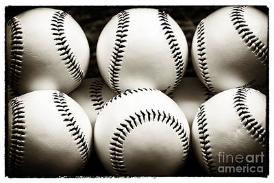 Photograph - Game Balls by John Rizzuto