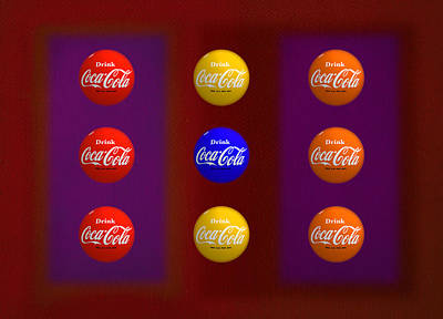 Coke Painting - Game by Charles Stuart