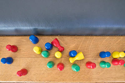 Token Photograph - Game Counters by Tom Gowanlock