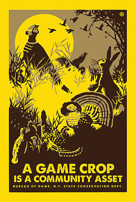 Wpa Digital Art - Game Crop by Gary Grayson