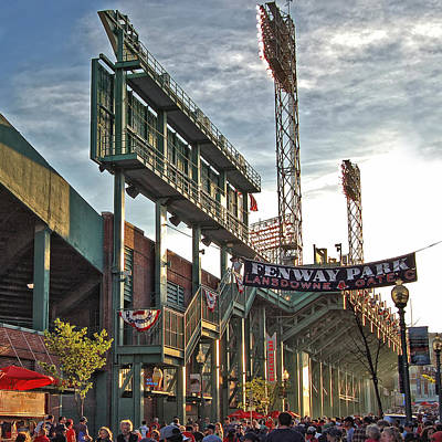 Fenway Park Photograph - Game Day - Fenway Park by Joann Vitali