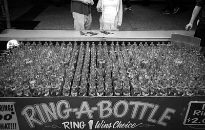 Win Bottles Photograph - Game Of Chance by Ben Carroll