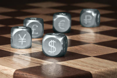 Finance Photograph - Game Of Chance by Tom Mc Nemar