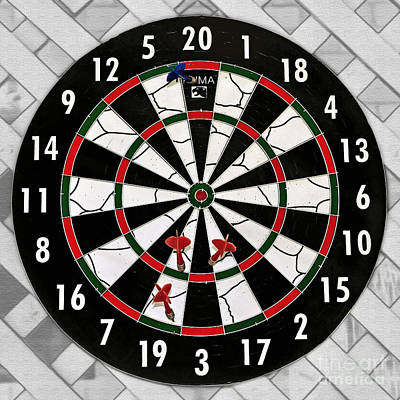 Photograph - Game Of Darts Anyone? by Kaye Menner