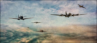 B17 Photograph - Game On by Jason Green