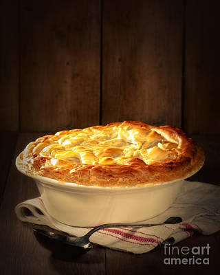 Ladle Photograph - Game Pie by Amanda Elwell