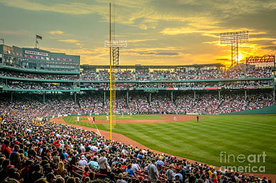 Fenway Park Art Print by Mike Ste Marie