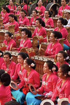 Photograph - Gamelan 01 by Rick Piper Photography