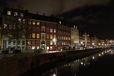 Photograph - Gammel Strand Copenhagen by Inge Riis McDonald