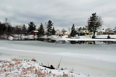 Photograph - Gananoque River In Winter 4 by Jim Vance